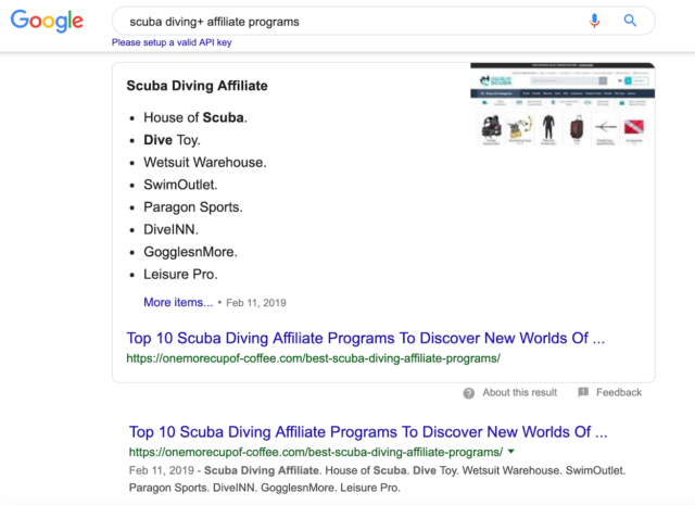 How to Find Affiliate Programs in Google Search Engine