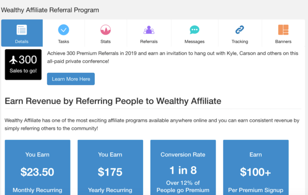 Wealthy Affiliate Referral Program All Inclusive Trip To Vegas Convention