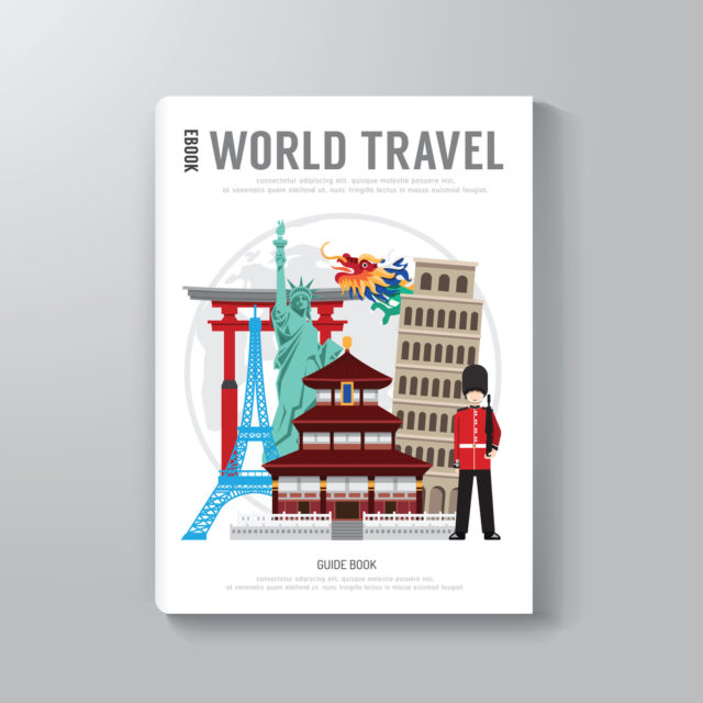 World Travel Business eBook Template Design