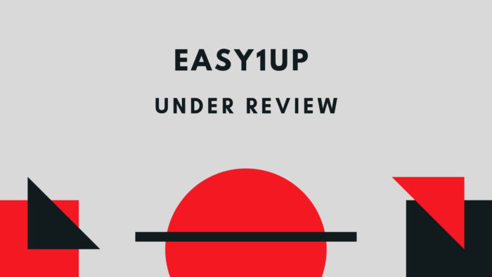 Easy1Up Under Review