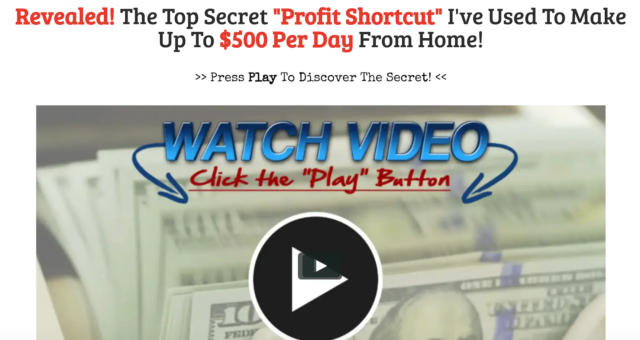 The Profit Shortcut Video Image