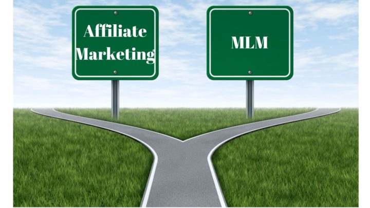 Affiliate Marketing and MLM Road Signs