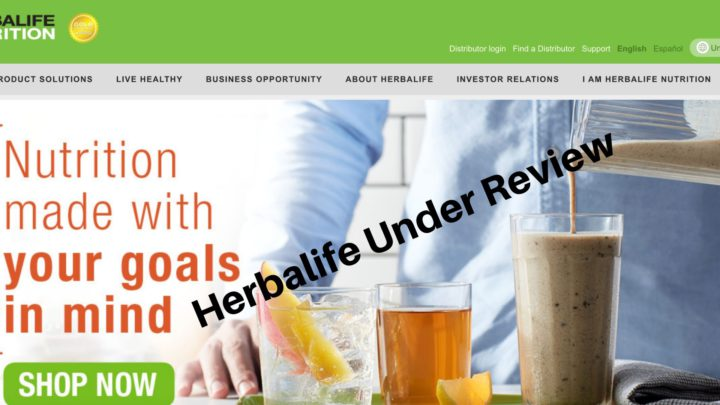 Herbalife Under Review