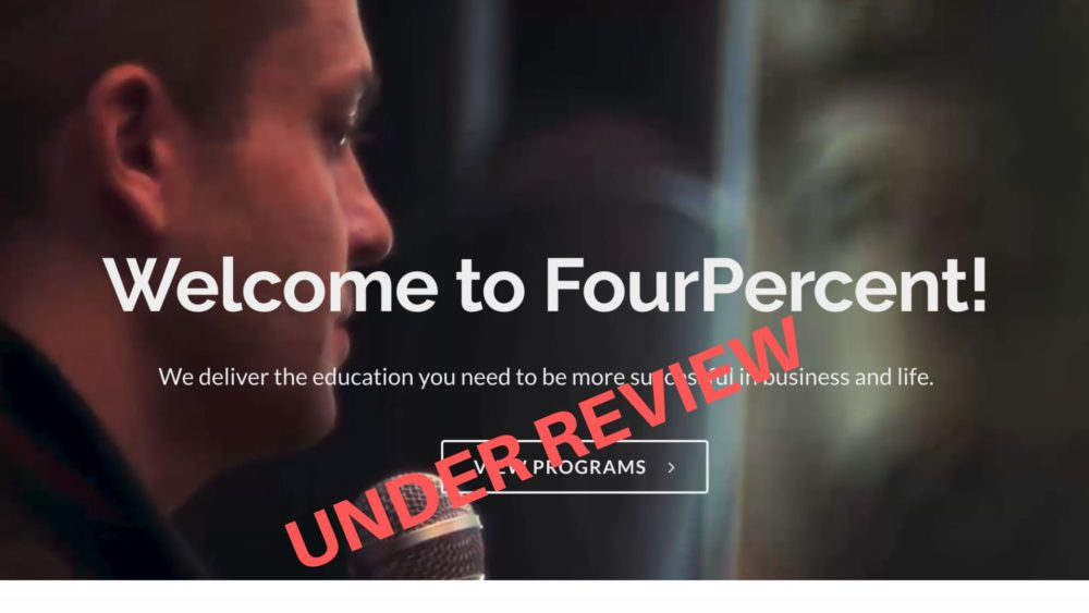 Four Percent Under Review