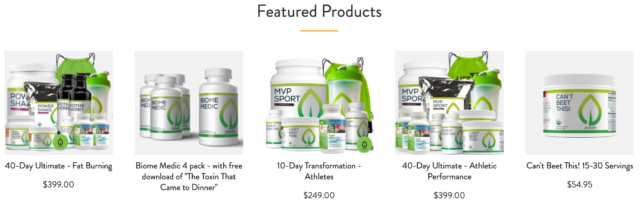Purium Featured Products