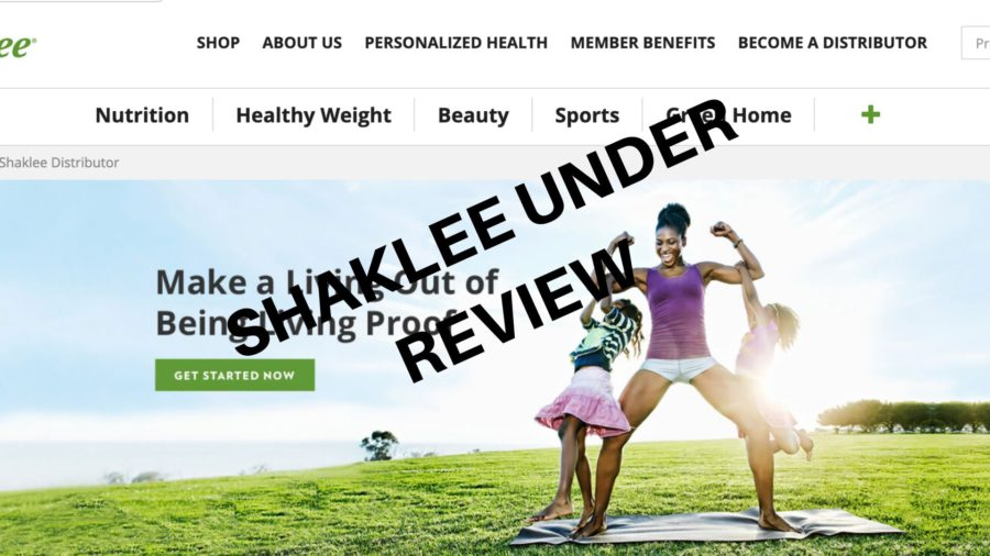 SHAKLEE UNDER REVIEW