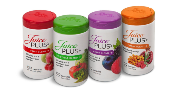 Juice Plus+'s 4 main blends