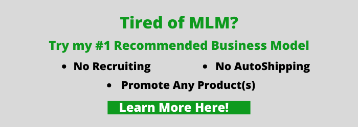 Tired of MLM? Try my #1 Recommended business model