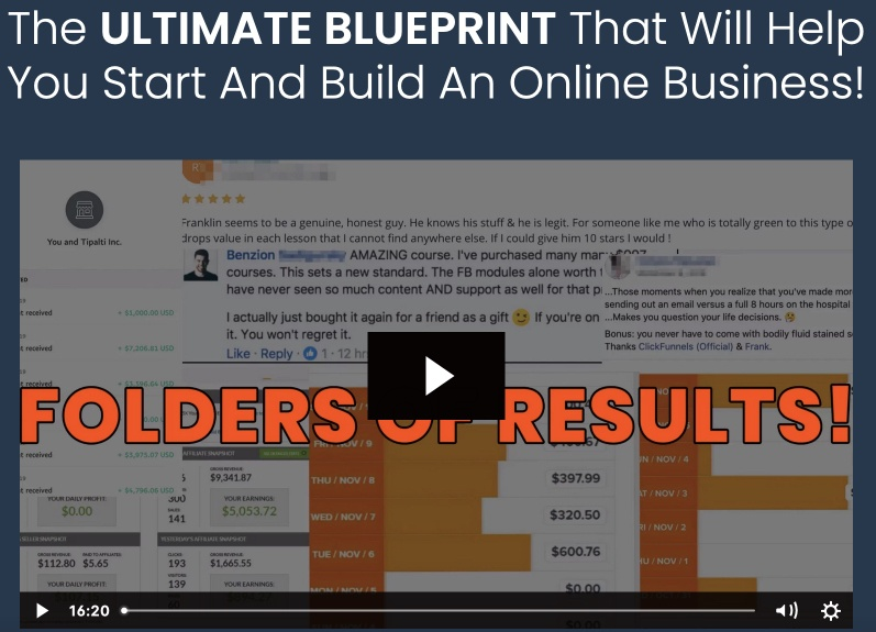 Savage Affiliates Blueprint to affiliate marketing
