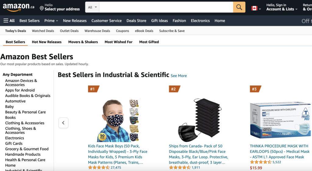 Image of Amazon Best Sellers